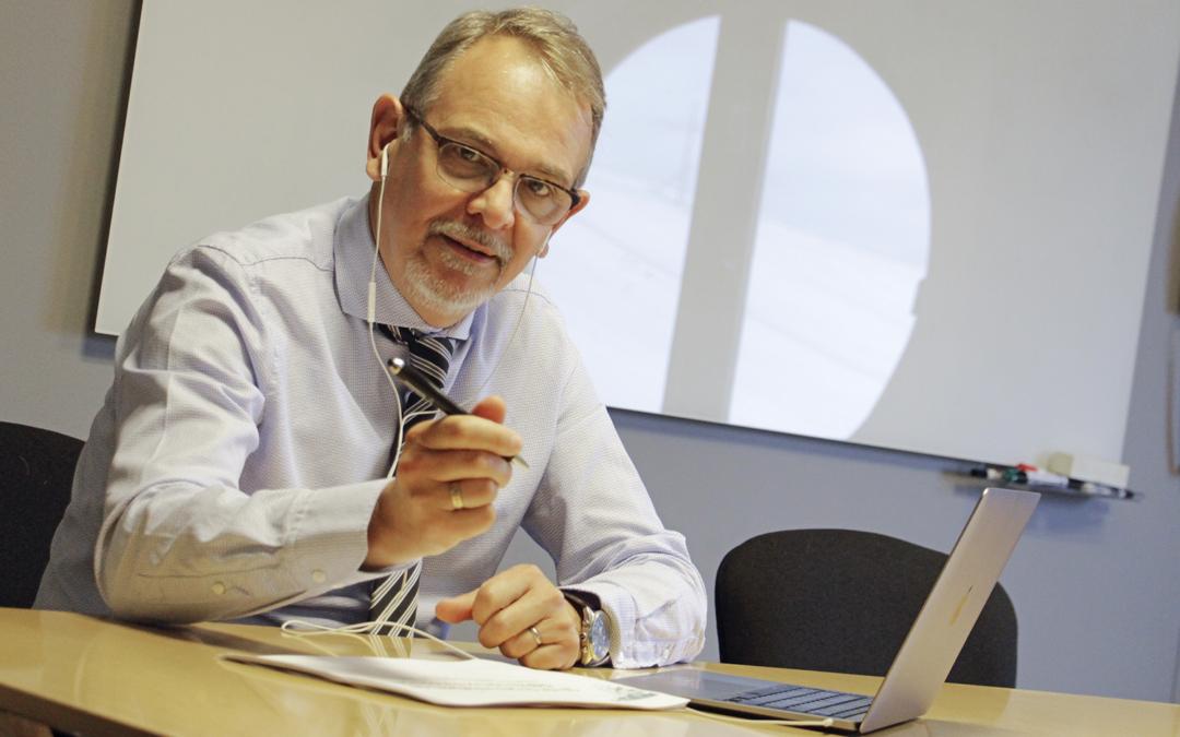 Newsrooms konsult håller i lunchwebinar för Rotary